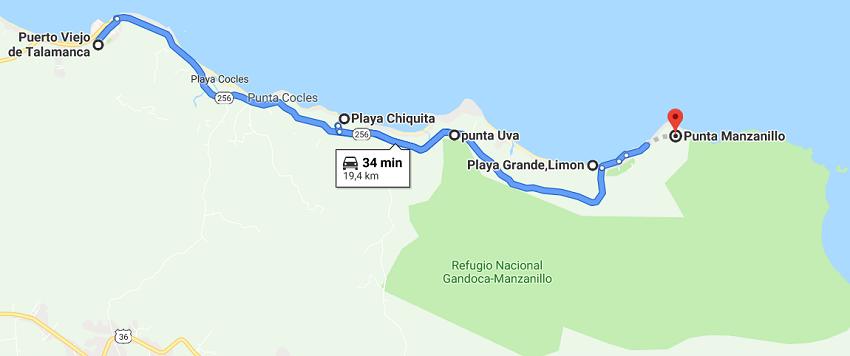 Puerto Viejo spiagge