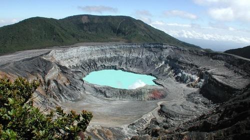 Cratere del vulcano Poas